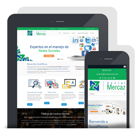 Páginas Web Responsivas